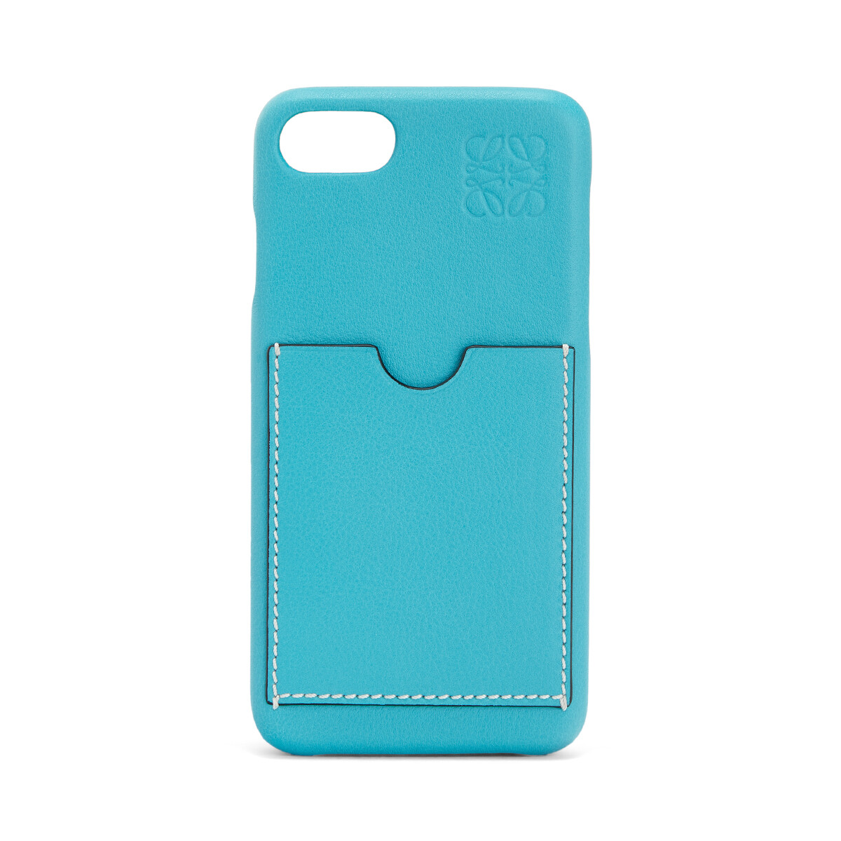 LOEWE Cover For Iphone 8 Peacock Blue front