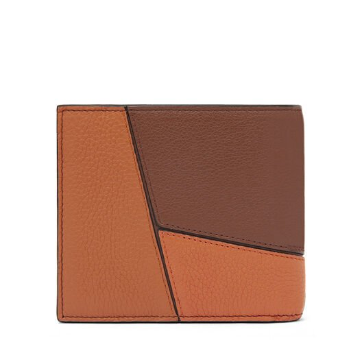 LOEWE Puzzle Bifold Wallet Ginger Multitone all