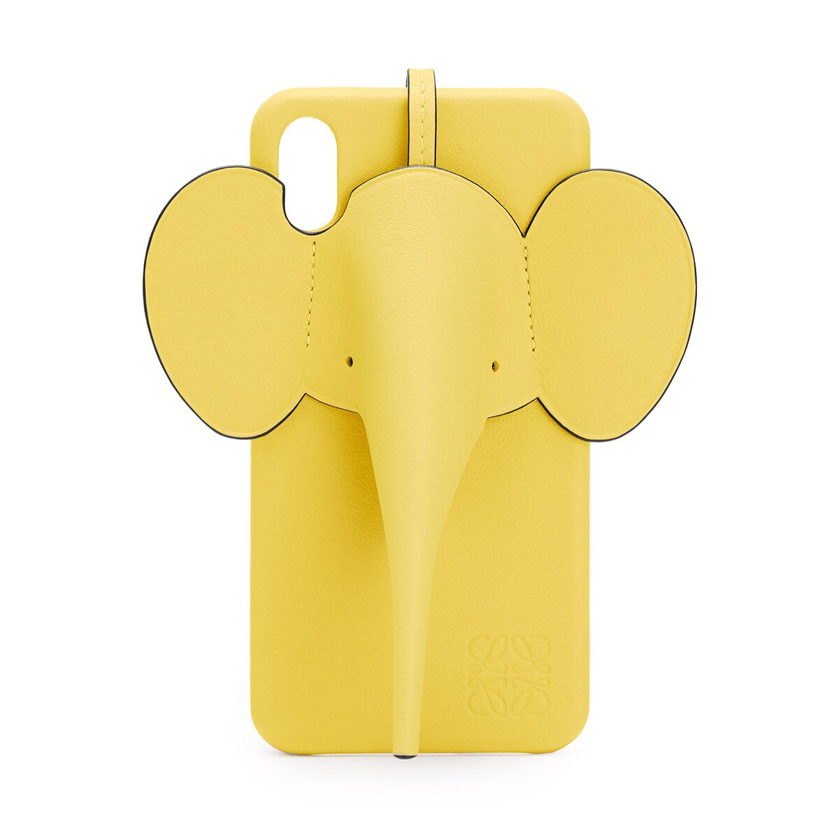 LOEWE Elephant Cover For Iphone Xs Max Yellow front