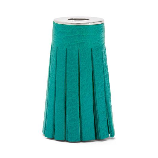 LOEWE Tassel Dice emerald green front