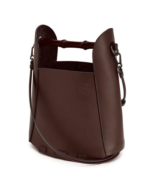 LOEWE Bamboo Bucket Bag Chestnut front