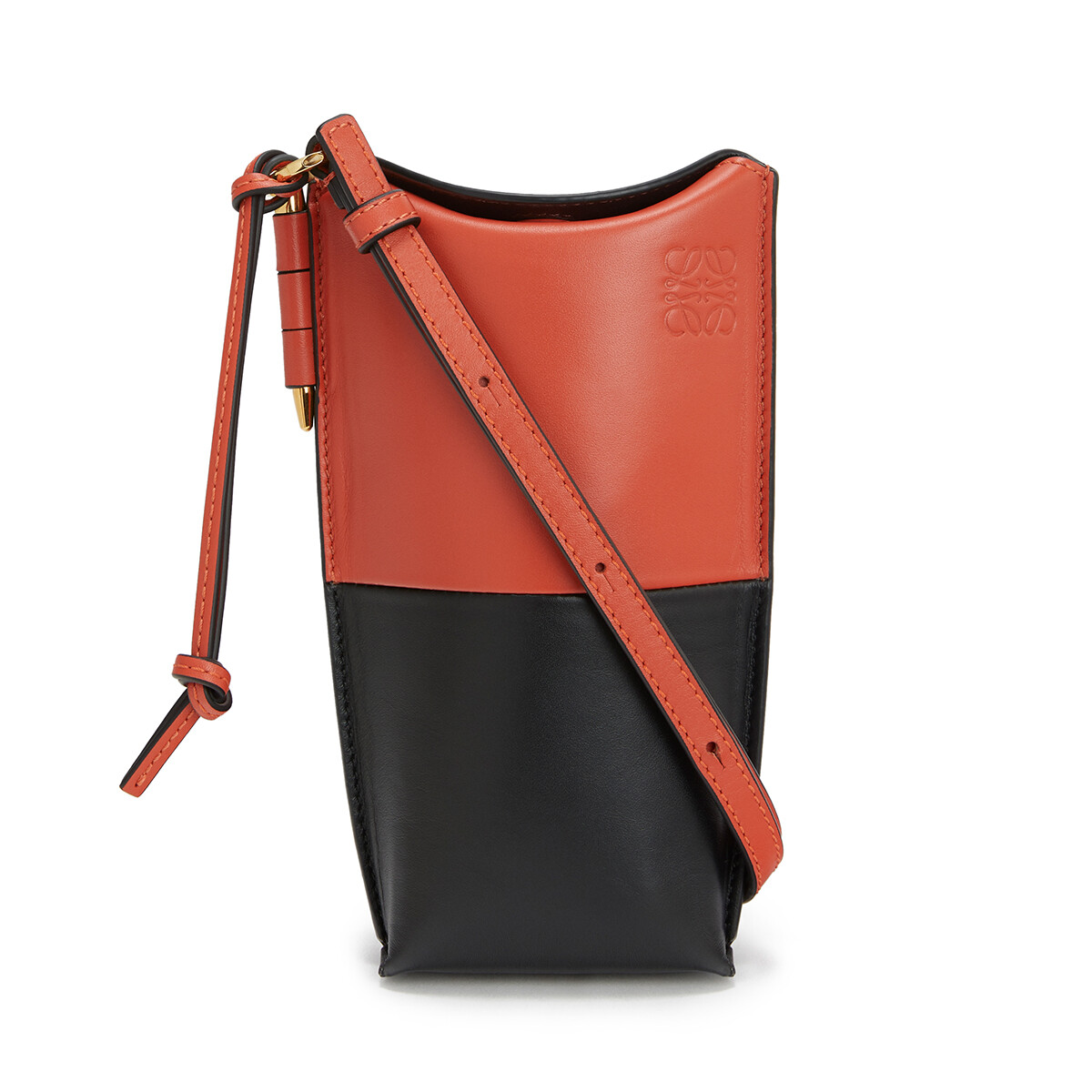 LOEWE Gate Pocket Vermillion/Black front