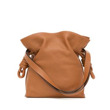 LOEWE Flamenco Knot Bag Tan front