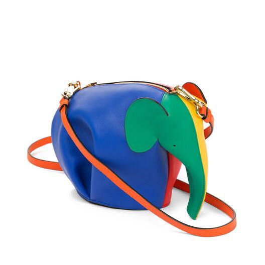 LOEWE Mini Bolso Elefante Multicolor/Naranja all