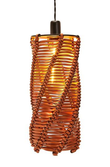 LOEWE Spiral Lamp Tan front