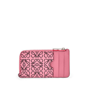LOEWE Coin/Card Holder Wild Rose/Black front