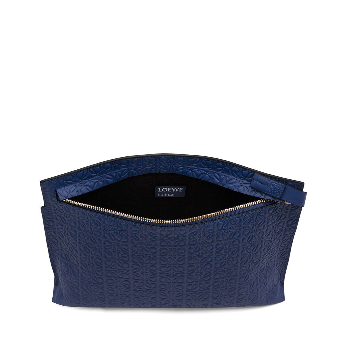 LOEWE T Pouch Repeat Navy Blue all