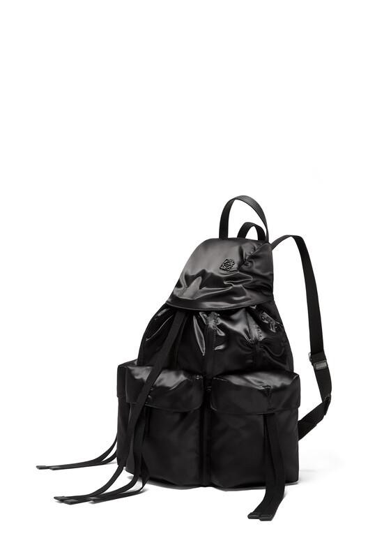 LOEWE Rucksack Black front
