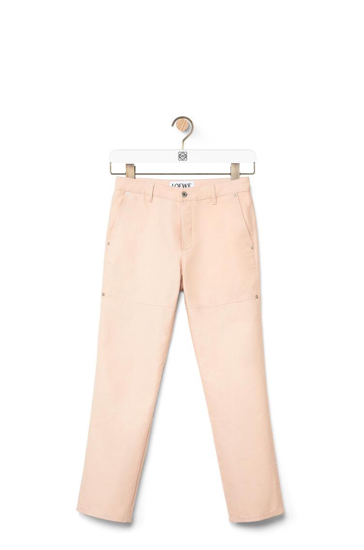 LOEWE La Palme boyfriend jeans in denim Pale Pink pdp_rd