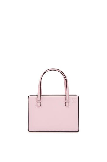 LOEWE Small Postal bag in natural calfskin Pastel Pink pdp_rd