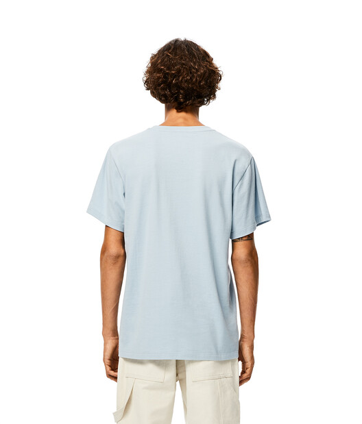 LOEWE Anagram T-Shirt Baby Blue front