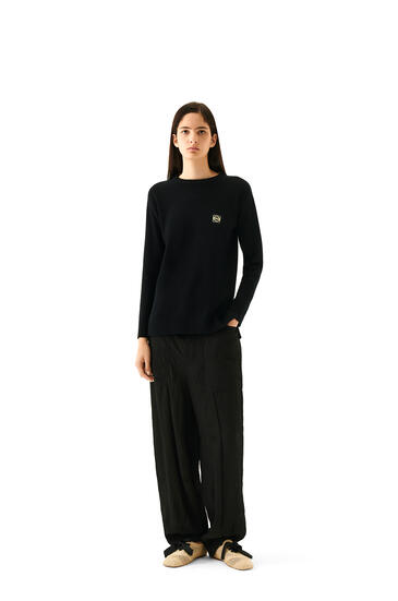 LOEWE Jersey Anagrama en cashmere con Negro pdp_rd