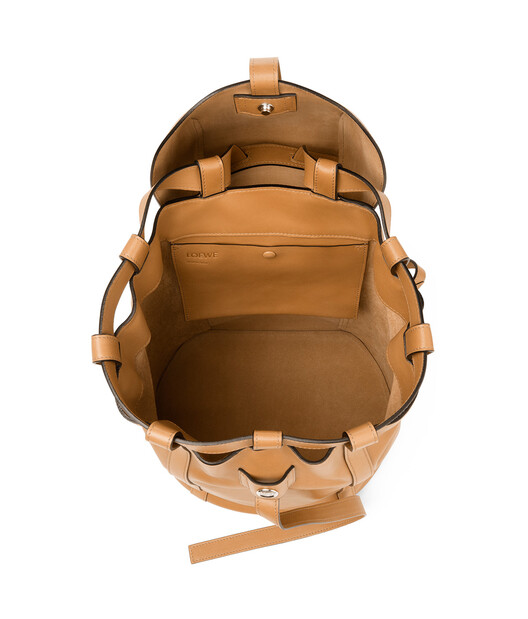LOEWE Rucksack Small Light Caramel front
