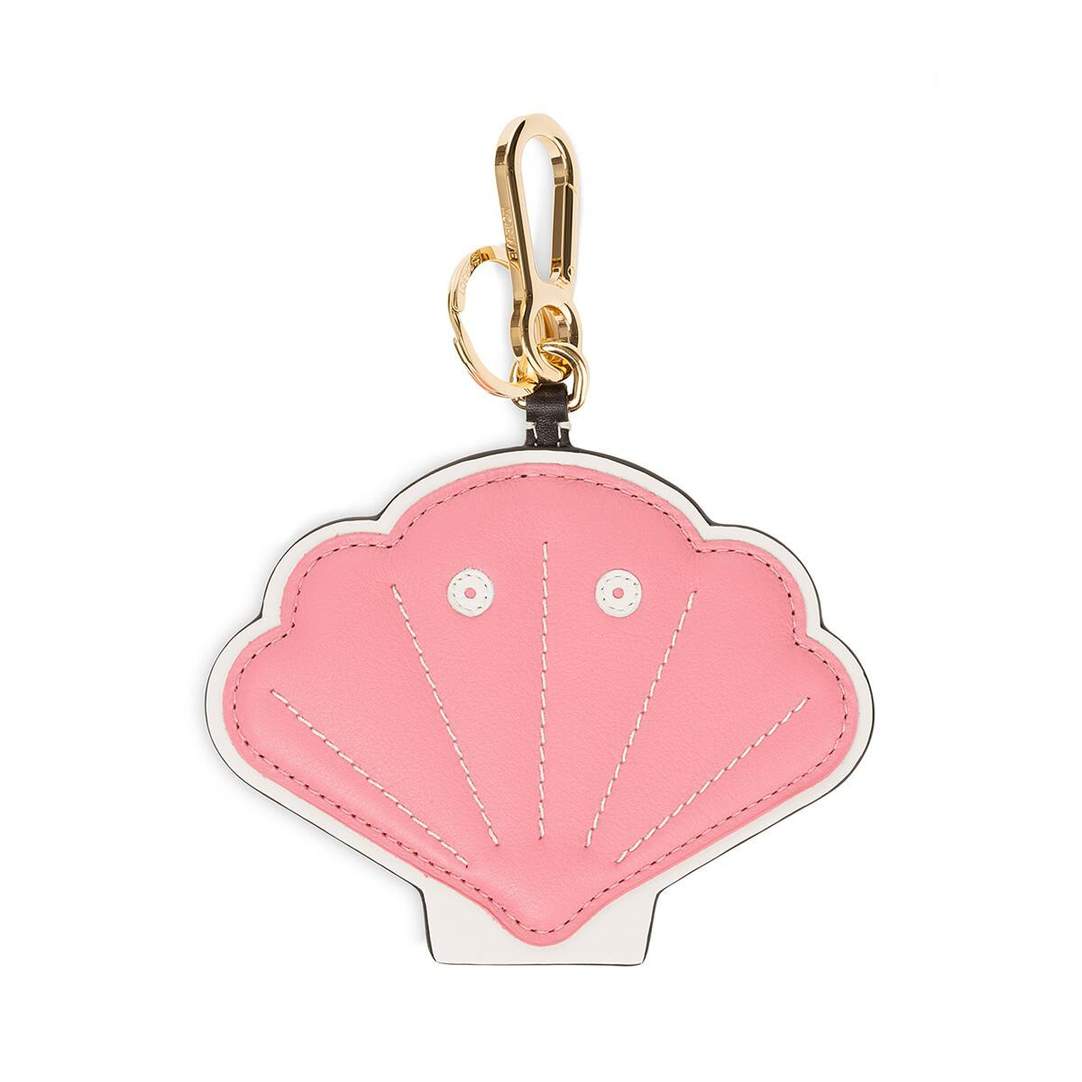 LOEWE Shell Charm Candy/White front