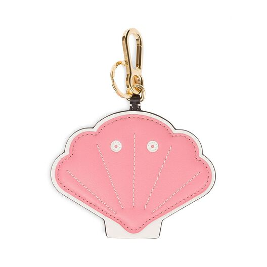 LOEWE Shell Charm Candy/White all