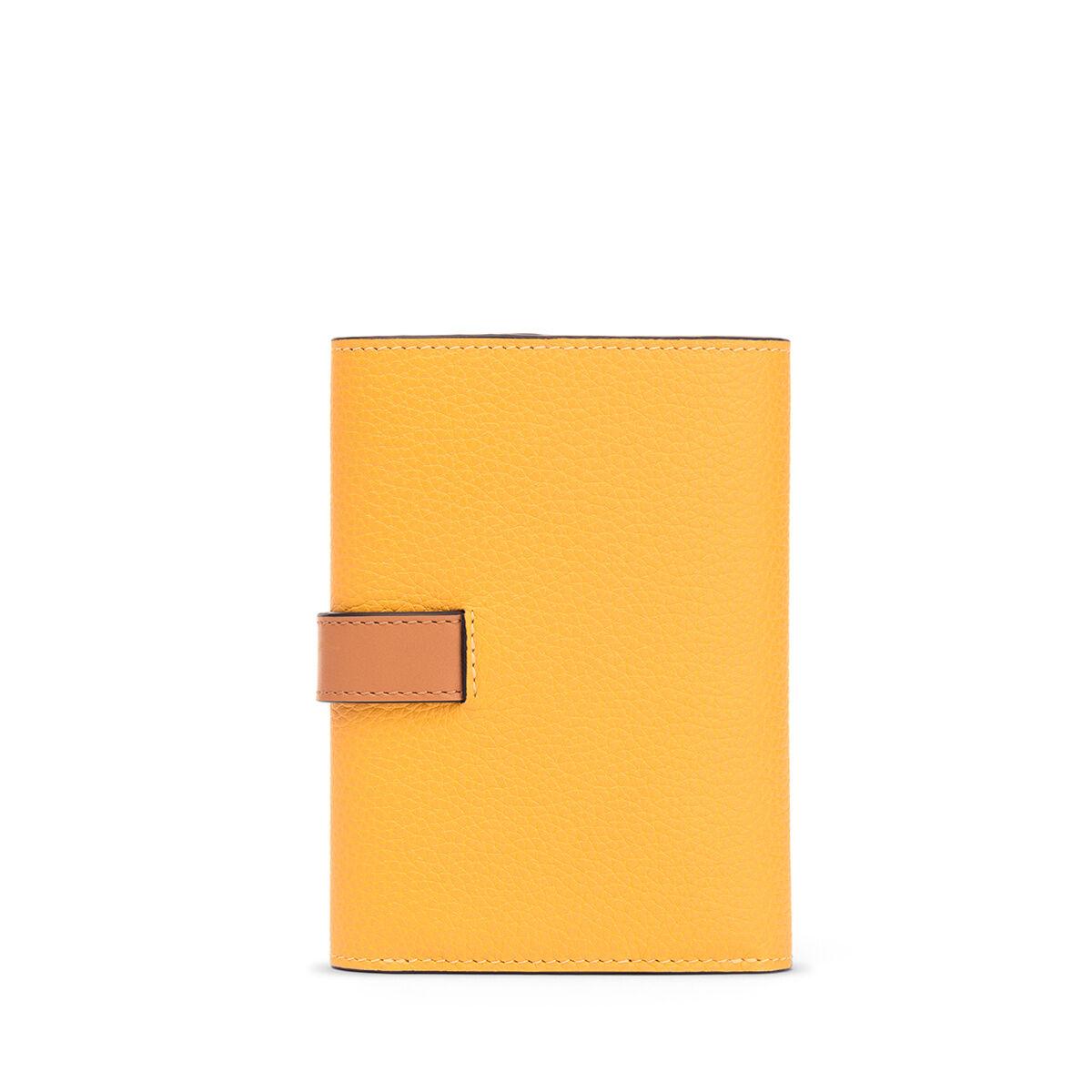LOEWE Billetero Pequeño Vertical Amarillo Mango/Miel all
