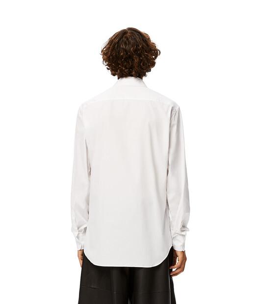 LOEWE Daisy Print Shirt White front