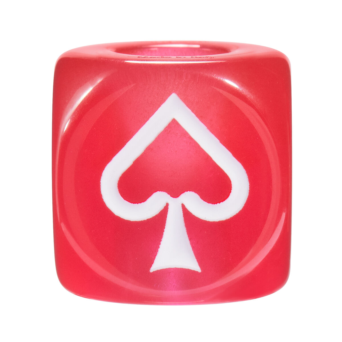 LOEWE Playing Cards Big Dice Red front