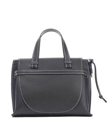 LOEWE Gate Top Handle Bag Midnight Blue front