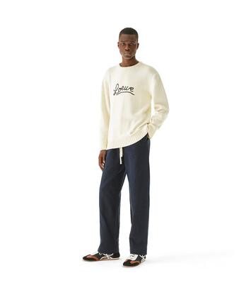 LOEWE Loewe Stitch Sweater 淡褐色 front