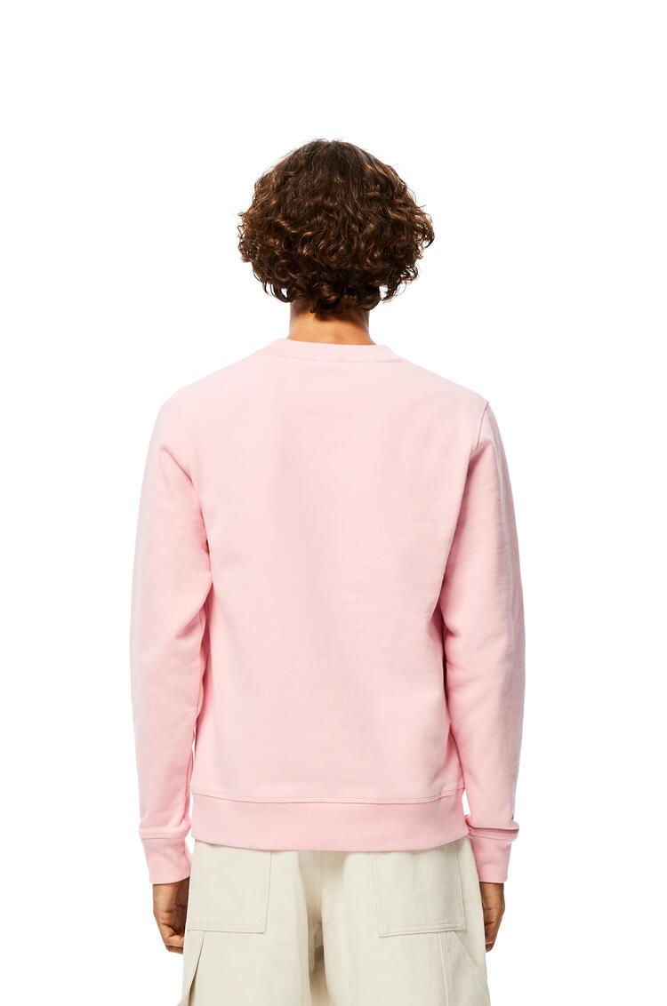 LOEWE Sudadera Anagrama en algodón Rosa Bebe pdp_rd