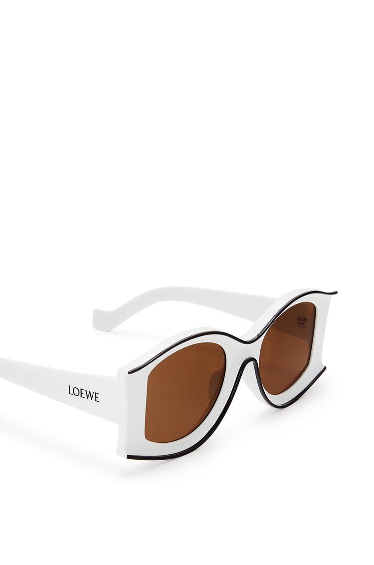 LOEWE PAULA´S IBIZA LARGE SUNGLASSES White/Black pdp_rd