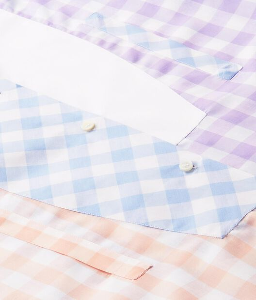 LOEWE Gingham Asym Oversize Shirt Multicolor all
