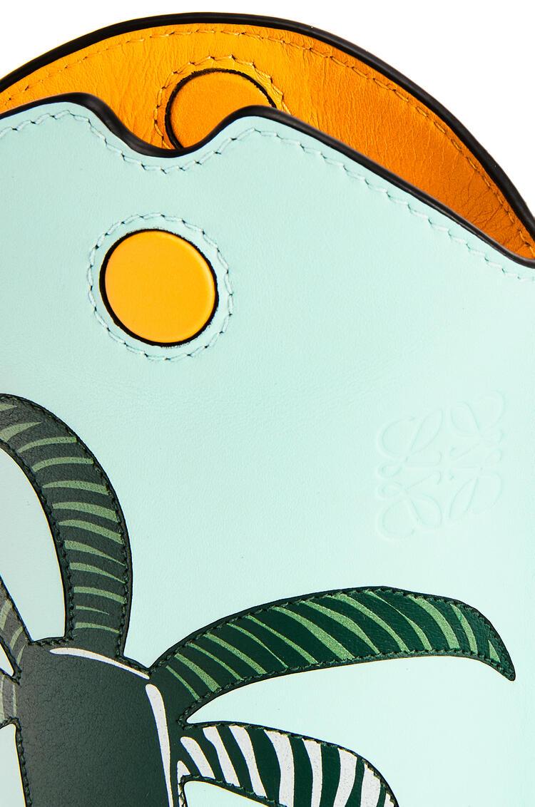 LOEWE ラ・パルム ゲートポケット (ソフトカーフ) Yellow Mango/Multicolor pdp_rd
