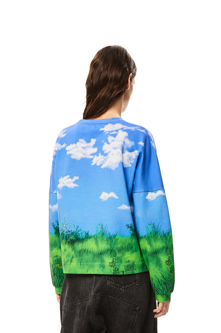 LOEWE 棉质风景龙猫运动衫 天空蓝 pdp_rd