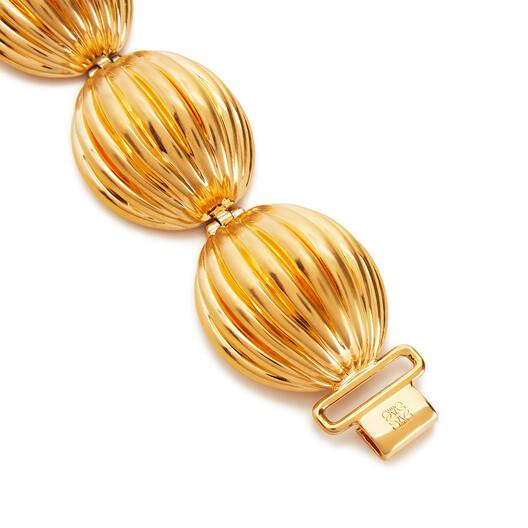LOEWE Nutshell Bracelet Gold front