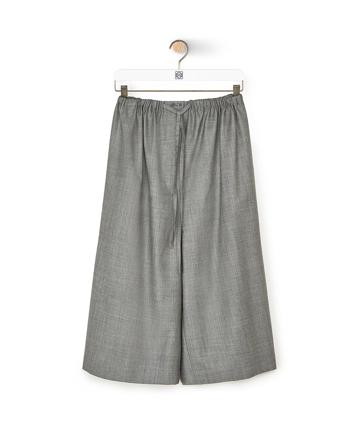 LOEWE Drawstring Shorts 灰色 front