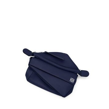 LOEWE Puzzle Small Bag 海军蓝 front
