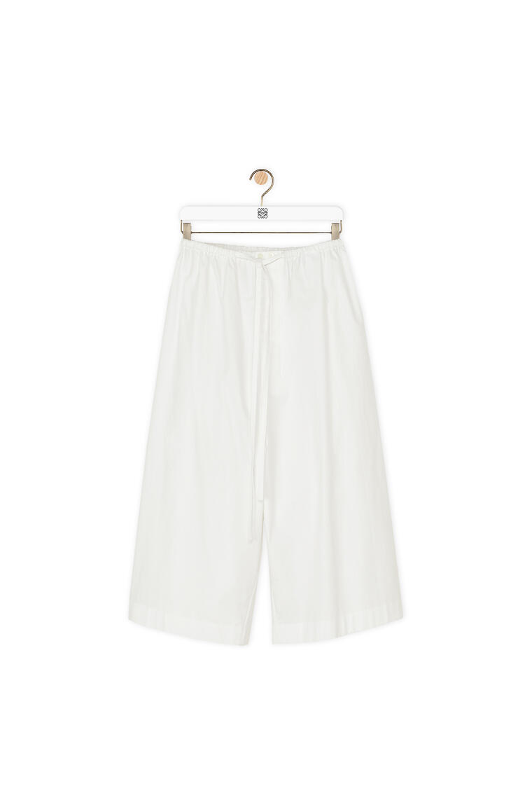 LOEWE Drawstring shorts in cotton White pdp_rd