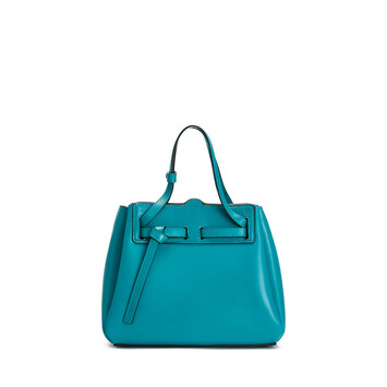 LOEWE Lazo Mini Bag emerald green front