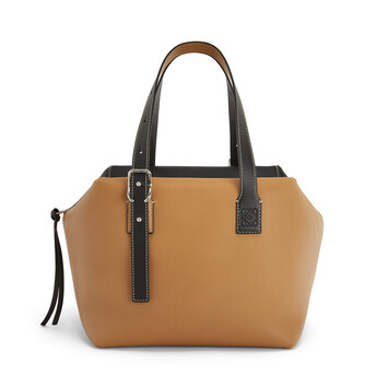 LOEWE Cube Bag Light Caramel/Black front