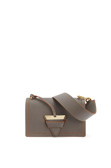 LOEWE Barcelona bag in soft grained calfskin Dark Taupe pdp_rd