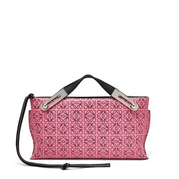 LOEWE Missy Repeat Small Bag Wild Rose/Black front
