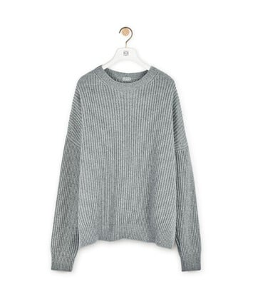 LOEWE Sweater Grey front