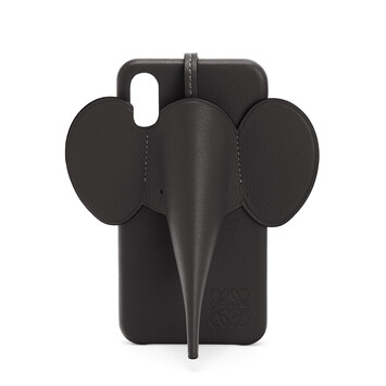 LOEWE Funda Elefante Para Iphone X/Xs Negro front