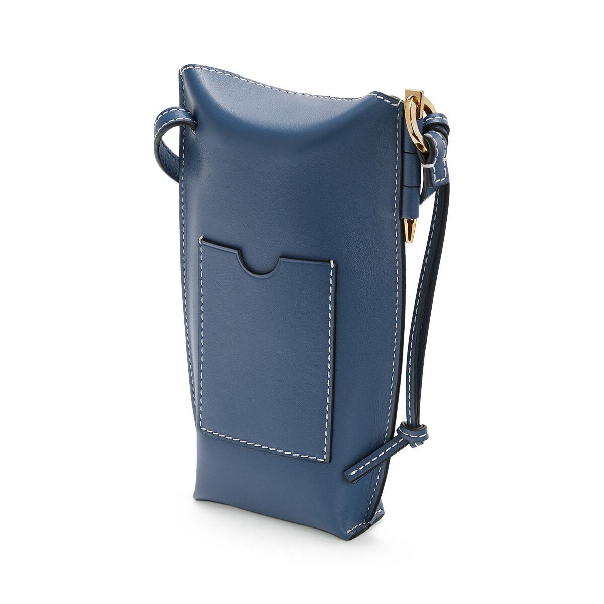LOEWE Gate Pocket Steel Blue front