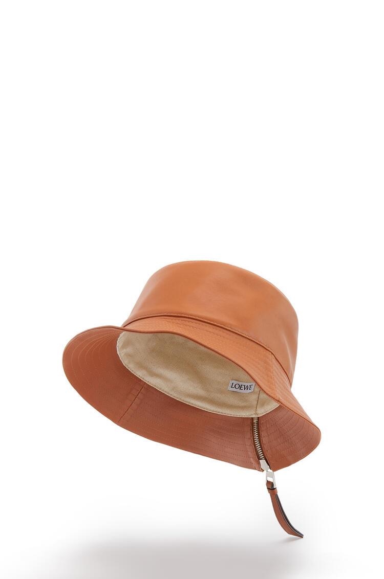 LOEWE Fisherman Hat In Nappa Calfskin 棕褐 pdp_rd