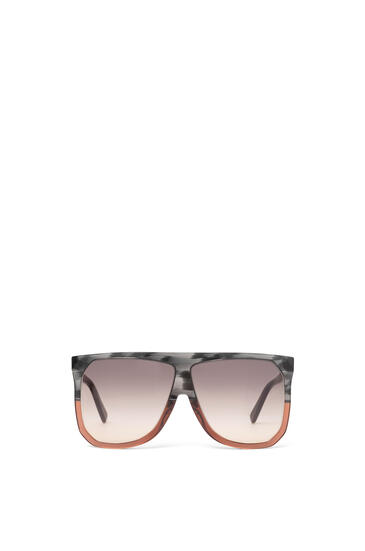 LOEWE Filipa Sunglasses in acetate Grey/Brown/Gradient Yellow pdp_rd