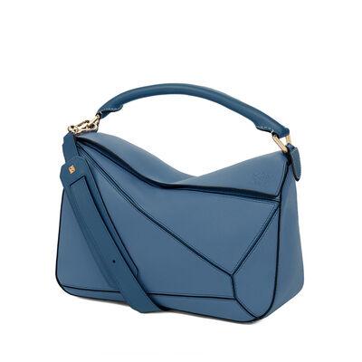 LOEWE Puzzle Bag Indigo front