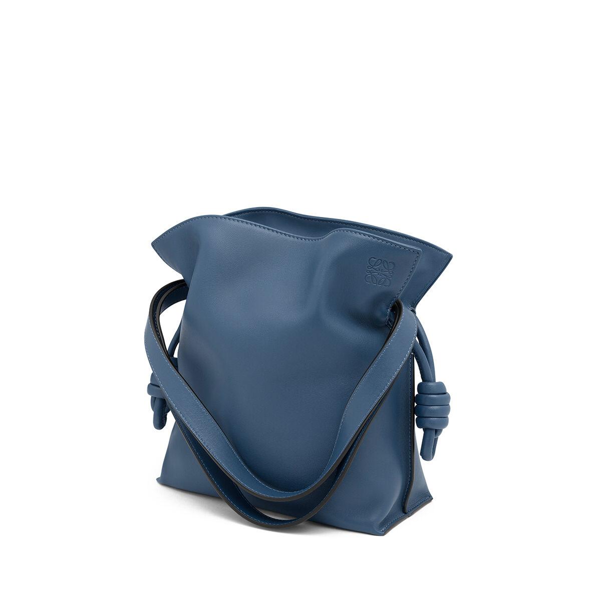 LOEWE Flamenco Knot Small Bag Varsity Blue all