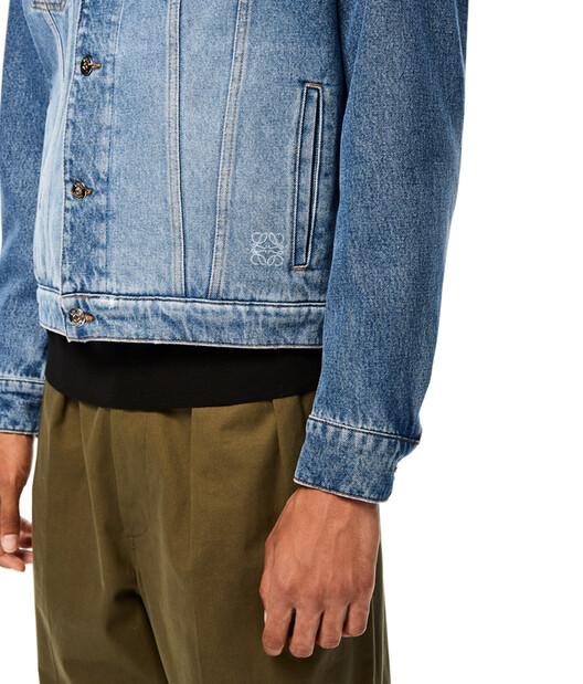 LOEWE Denim Jacket 藍色 front