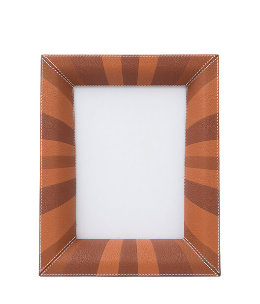 LOEWE Photo Frame Tan Multitone front