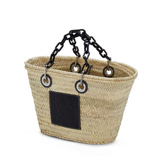 LOEWE Basket Chain Bag 原色/黑色 front