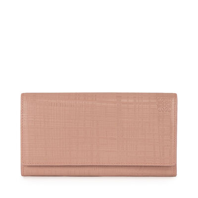 LOEWE Continental Wallet Blush front