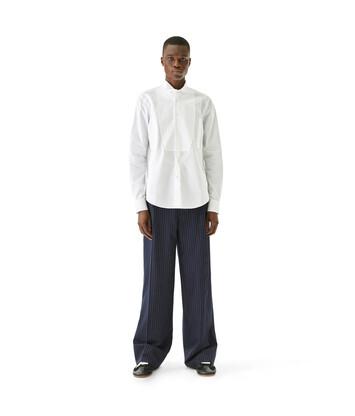 LOEWE Wing Collar Shirt White front