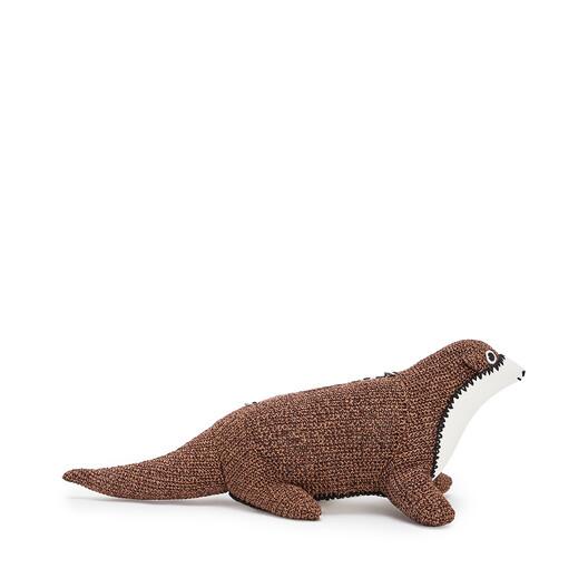 LOEWE Otter Bag Oak/Tan front